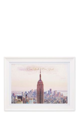 Buy Framed New York City Photograph from the Next UK online shop ...