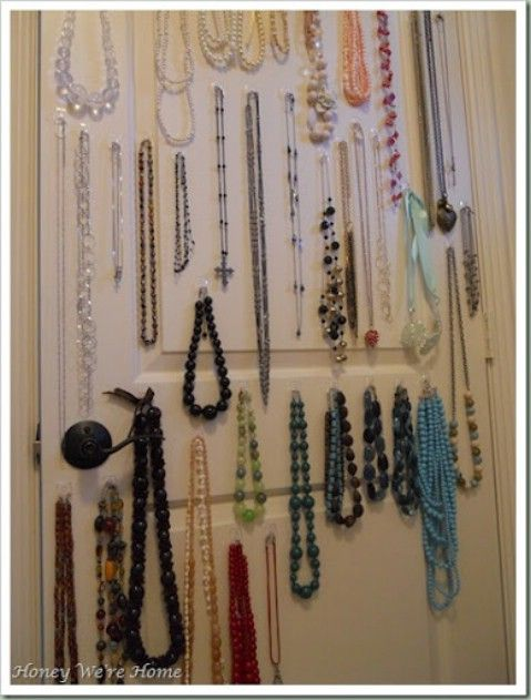 Top 58 Most Creative Home Organizing Ideas And Diy Projects Jewelry Storage Solutions Hanging Jewelry Creative Home