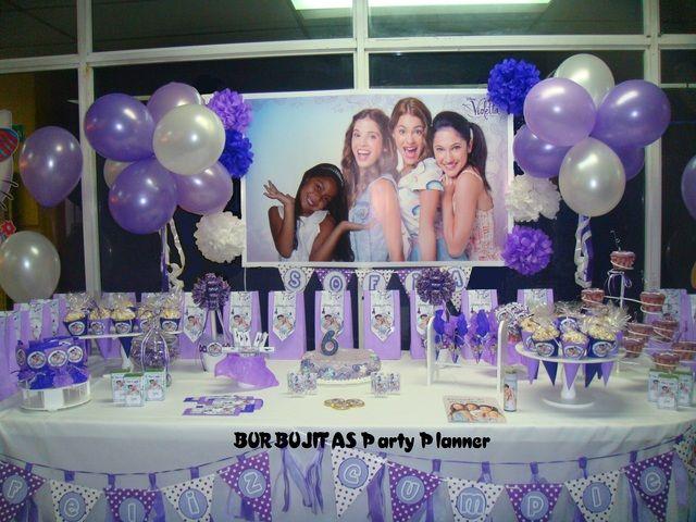Violetta en el cumple de Sofía   CatchMyParty.com
