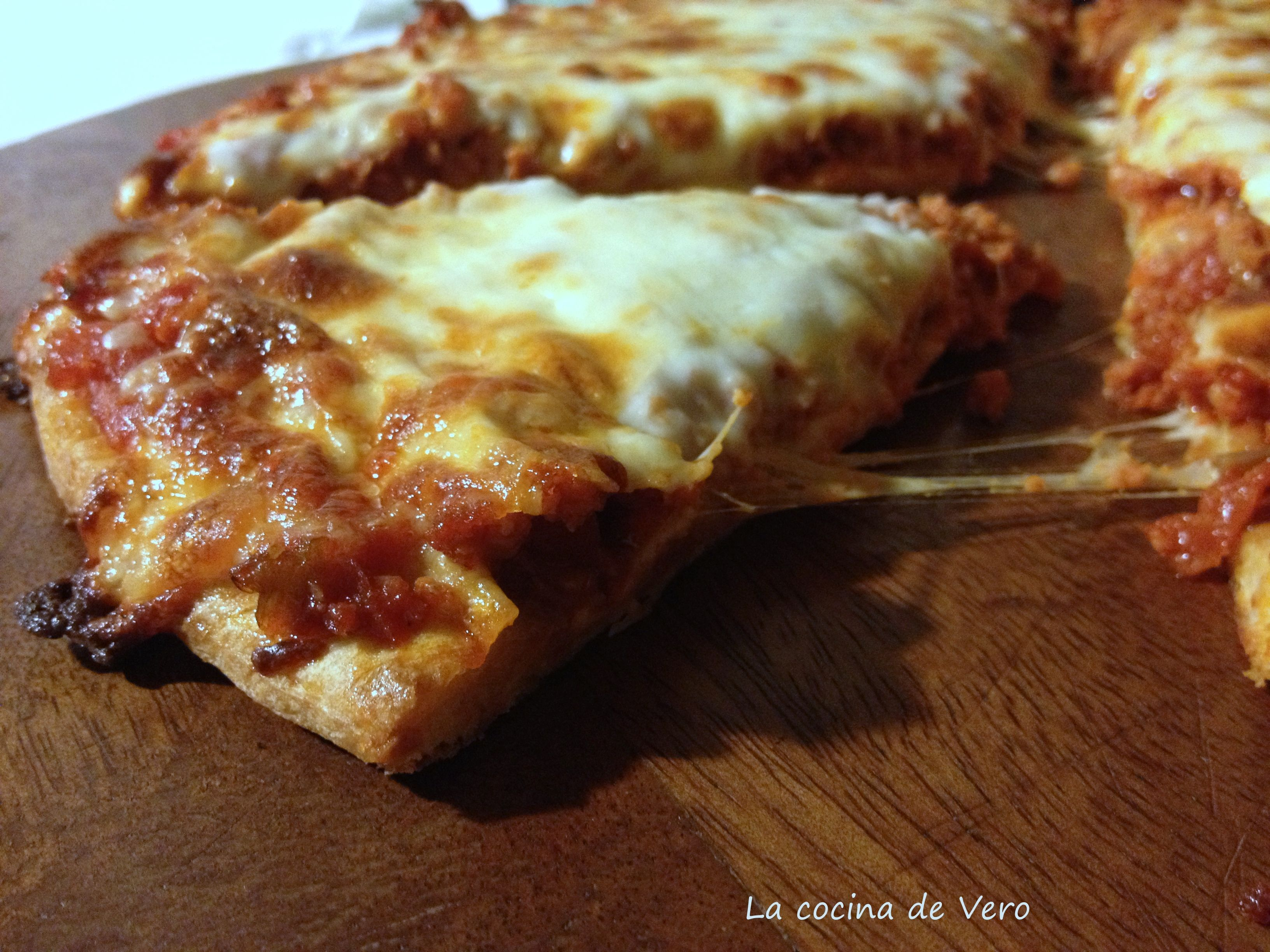 Slice de pizza de chorizo de rey pizza t