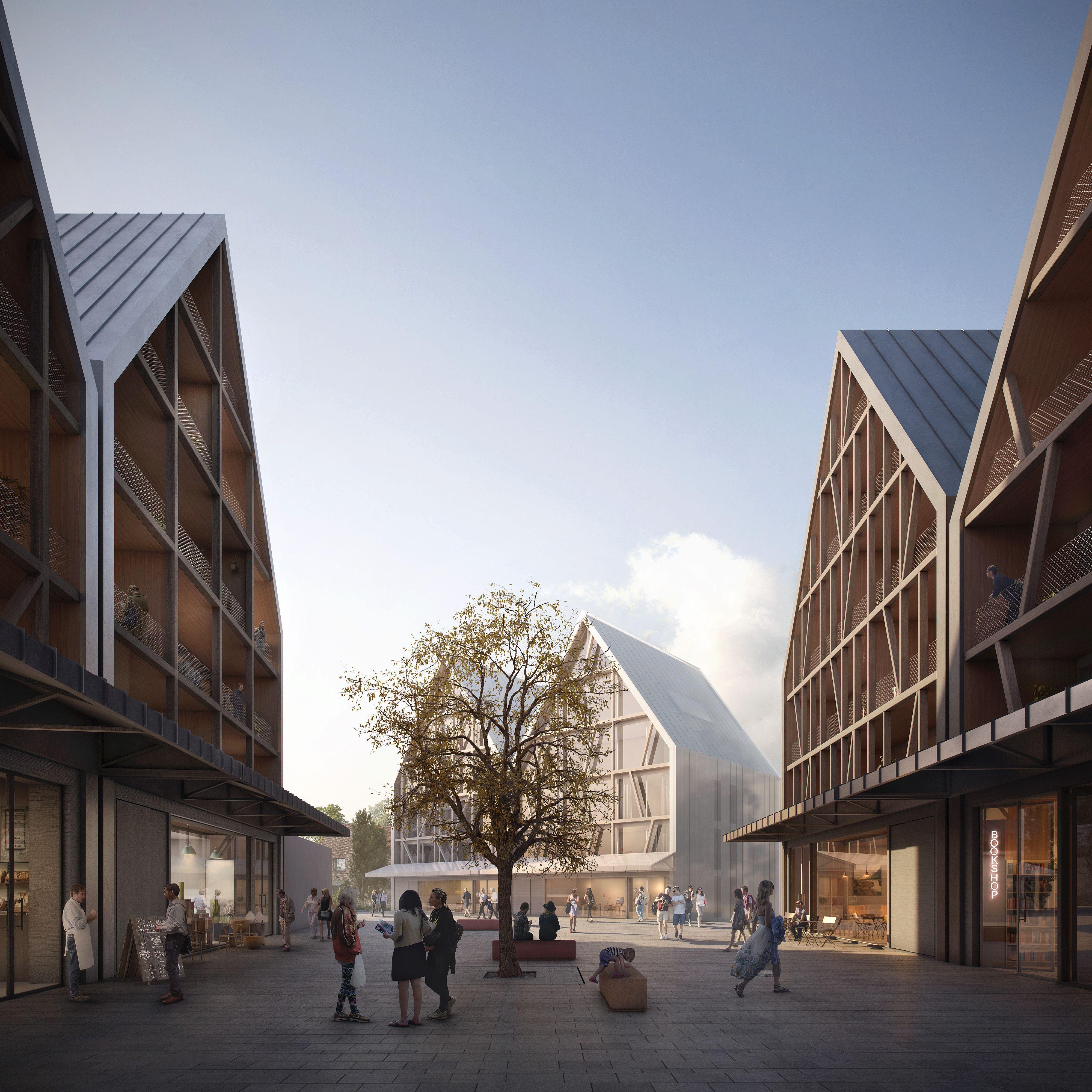 Allmann sattler wappner architekten leonberg competition for Masterarbeit architektur