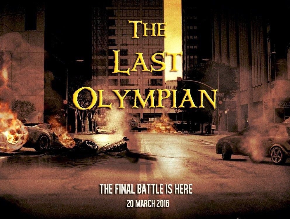 The Last Olympian – Movie poster manipulation. I'm waaaay there ...