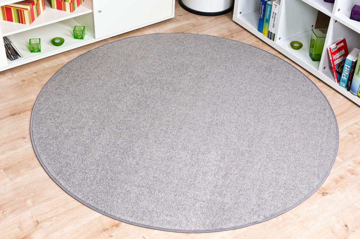 Runder teppich grau dekoration ideen