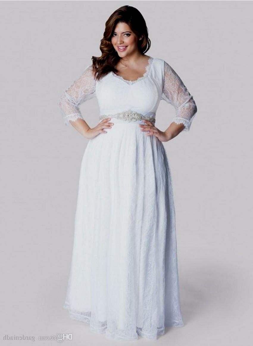 Plus size white dress - Plus Size White Dress With Sleeves Plus Size In White Pinterest Sleeved Dress White Maxi Dresses And White Maxi