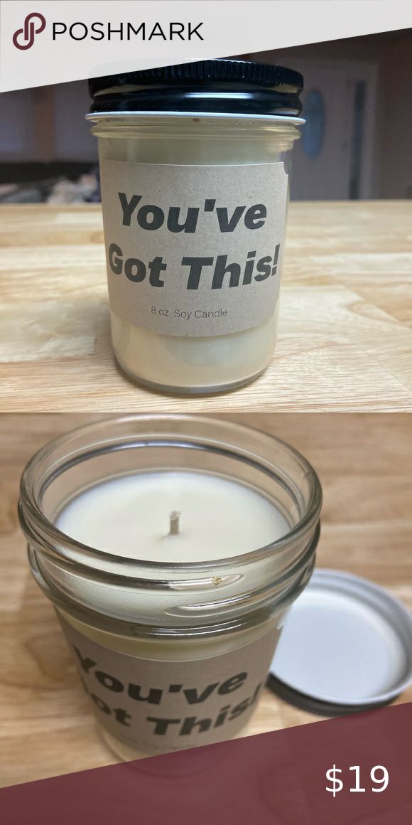 You Ve Got This Scented Candle Apple Harvest Scented Soy Wax Candle You Ve Got This Encouragement Novelty Candle Ac Candles Novelty Candles Scented Soy Wax