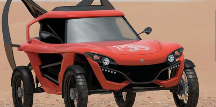 explore voiture volante