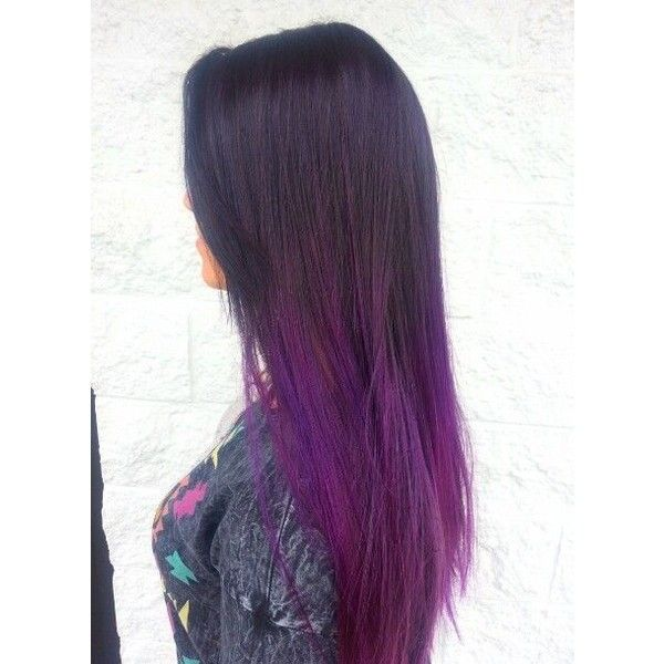 Brown To Purple Ombre Hair 4055 Inspiration Hair Styles Purple Ombre Hair Ombre Hair Color