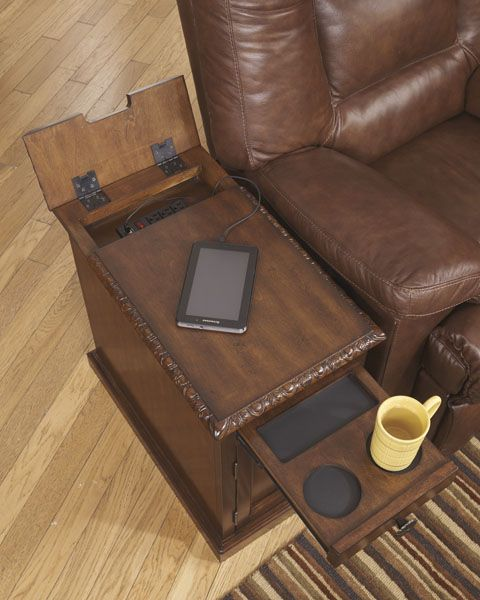 Chair Side End Table By Ashley In 2020 Woodworking Projects That Sell Chair Side Table