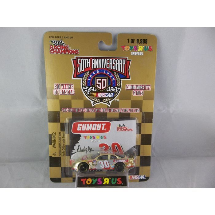 Racing Champions 1998 NASCAR 50th Anniversary Toys R Us