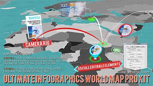 3d world map pro kit project for after effects videohive http 3d world map pro kit project for after effects videohive http gumiabroncs Images