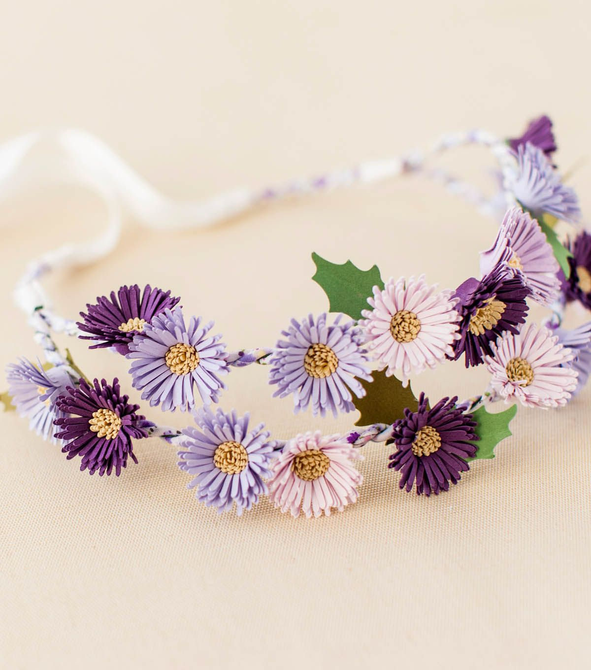 How to make a purple aster flower crown a free cricut project how to make a purple aster flower crown a free cricut project izmirmasajfo