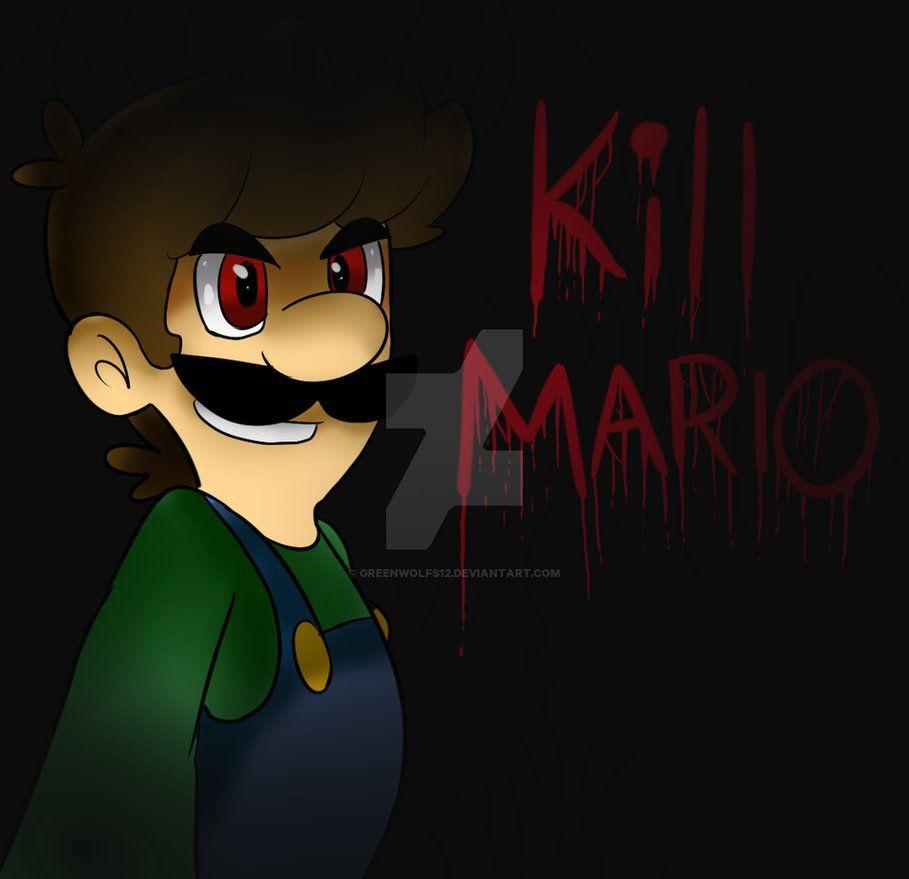 Kill Mario By Greenwolfs12 Mario Super Mario Brothers Super Mario