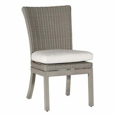 Summer Classics Rustic Patio Dining Chair with Cushion Frame Color: Rustic #24 Oyster, Cushion Color: Wasabi