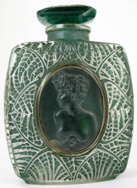 Lalique 1920s Perfume Bottle Cameo