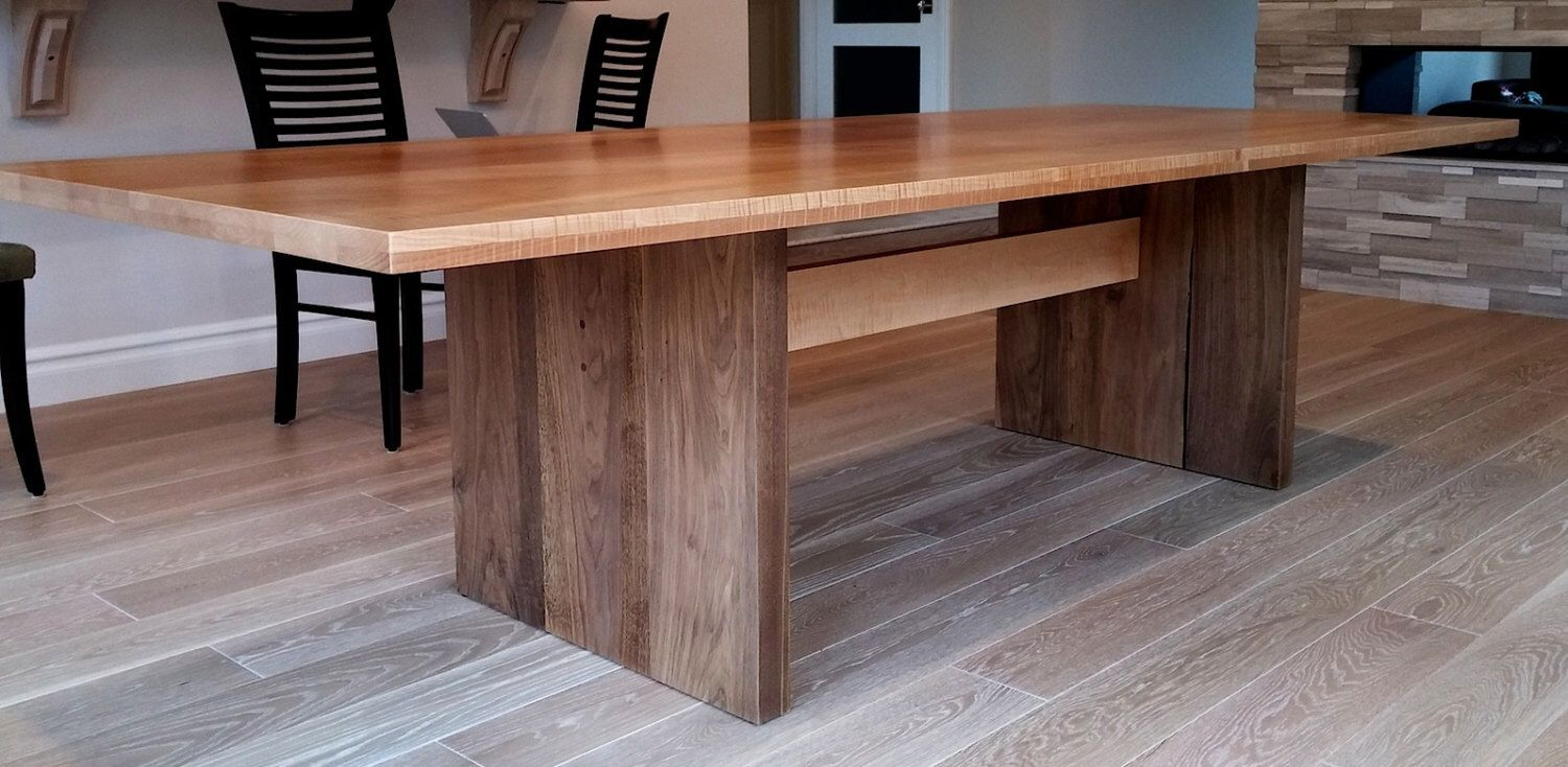 Modern Dining Table Etsy Modern Dining Table Diy Dining Table