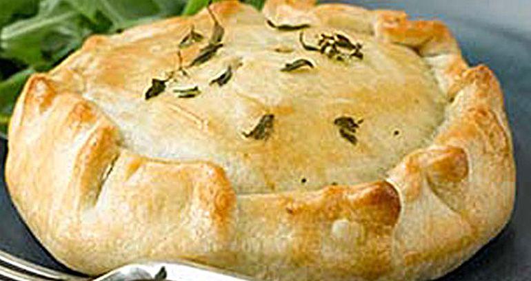 Chicken, Leek & Musroom No Dish Pie | Pastry Recipes | Jus ...