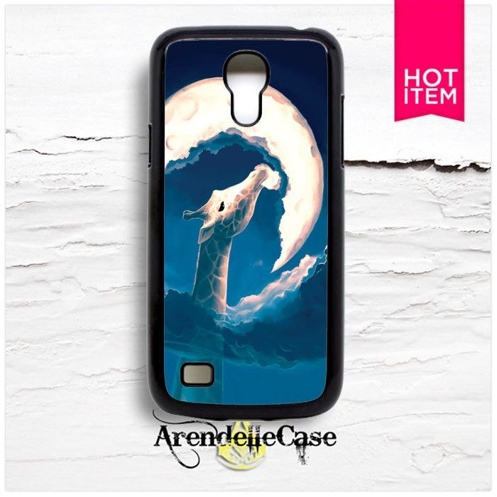 Giraffe And Moon Animal Samsung S4 Mini Case
