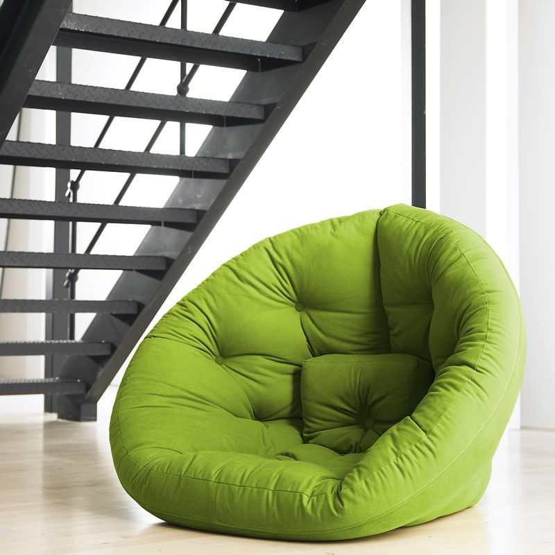 Reading Chairs For Small Spaces Part - 48: Fresh Futon U0027Nestu0027 Convertible Futon Chair/ Bed In Home U0026 Garden, Furniture,  Futons, Frames U0026 Covers