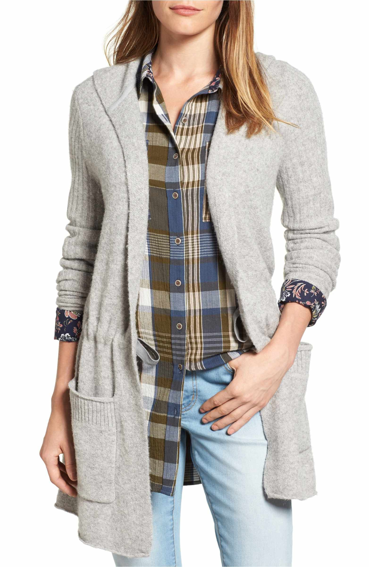 Hooded Cardigan | Hooded cardigan