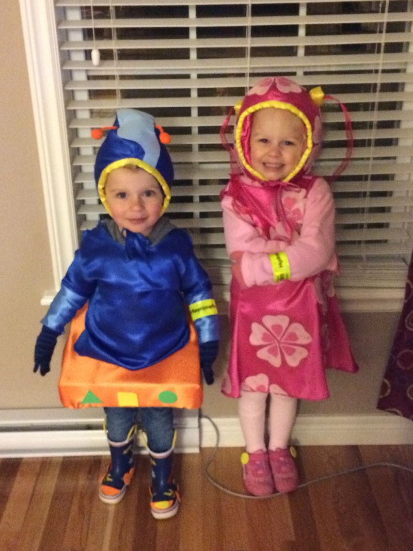 team umizoomi milli and geo brother and sister halloween costume