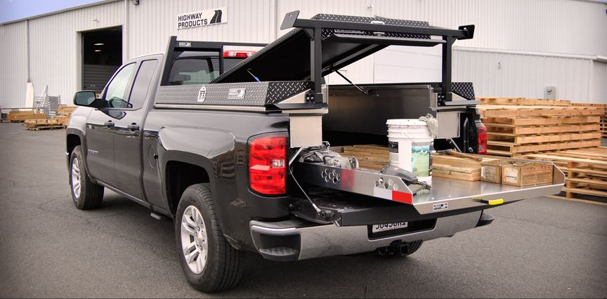 Pickup Truck Bed Organizer Cargo Slide Out
