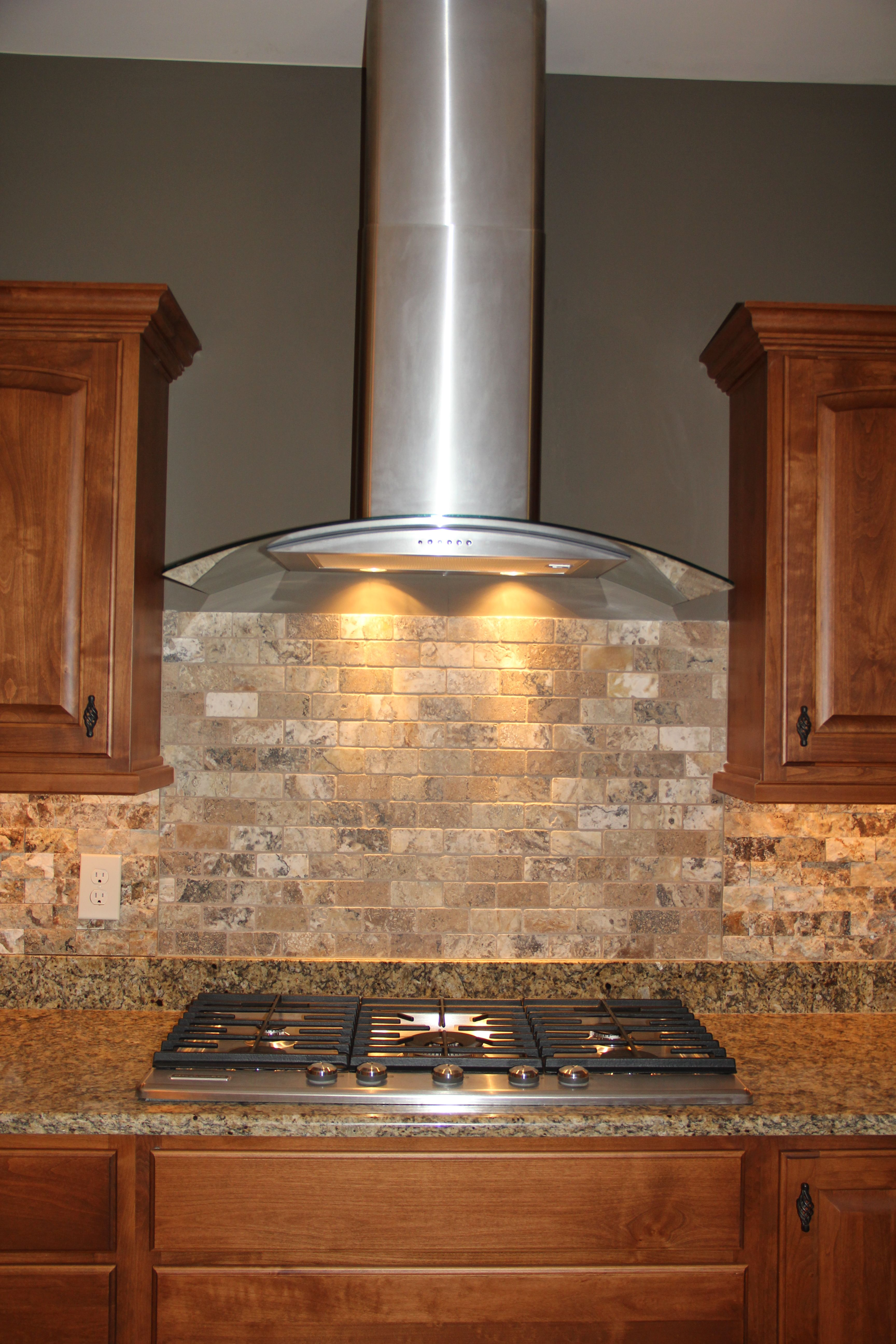 Custom Kitchen With Granite Countertops Stainless Steel