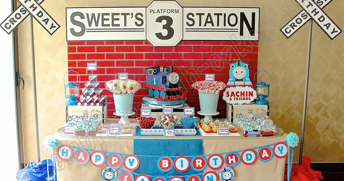 A Blog About Customized Cakes In Singapore Thomas Train Birthday