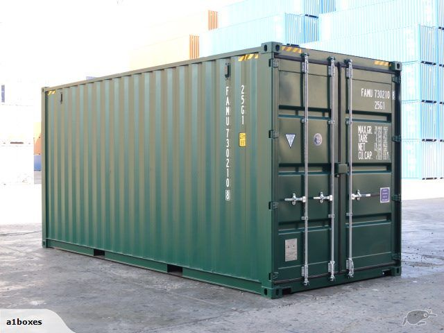 Shipping Container 20ft High Cube New Build Green Trade Me Storage Containers For Sale Containers For Sale Shipping Containers For Sale