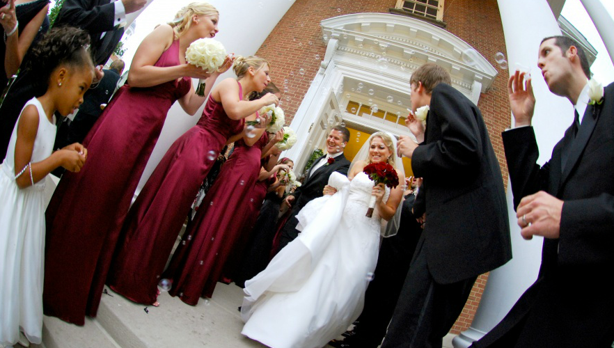 Consider Dont Stop Believin By Journey As Your Wedding Exit Song In Addition Forget The Bubbles How Will You Be Exiting