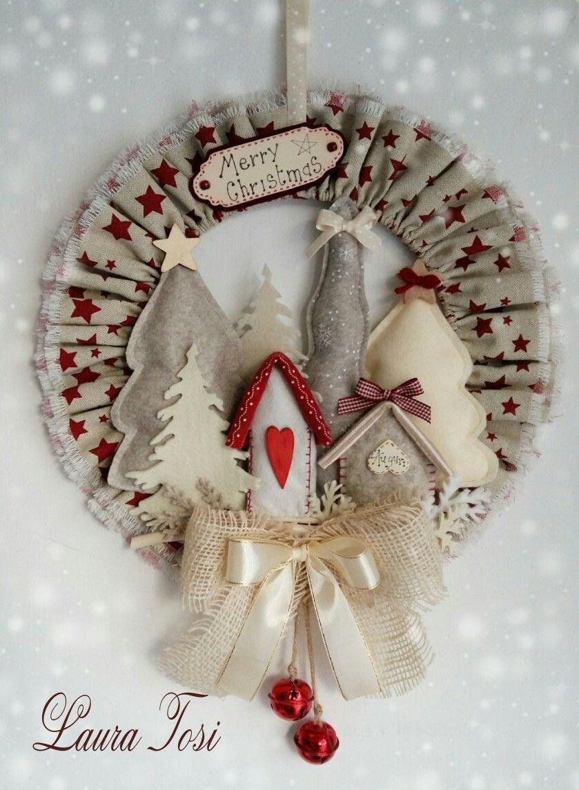 Immagini Di Ghirlande Di Natale.130 Idee Su Ghirlande Natalizie Ghirlanda Natalizia Ghirlande Decorazioni Natalizie