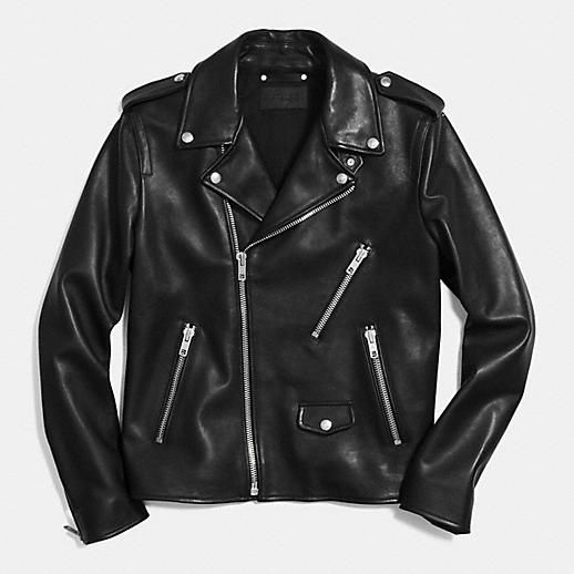 64f3f6707 Coach Mens Leather Jackets|Motorcycle Jacket | Stuff to Buy ...