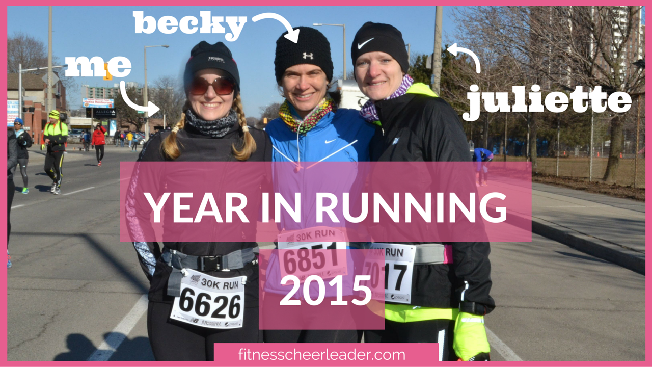 Year in Running - my 2015 running recap