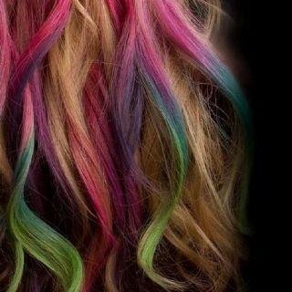 Chalk hair color!