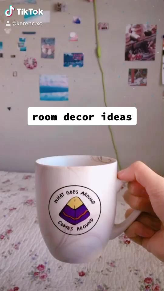 See some easy and affordable yet cute room decor ideas! Now, during quarantine, is a perfect time to redecorate your room. #roomdecorideas #roomdesign #affordablefashion #tiktok #videotutorial