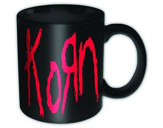 Korn  Logo  Coffee Mug  FREE SHIPPING by NoNameGifts on Etsy