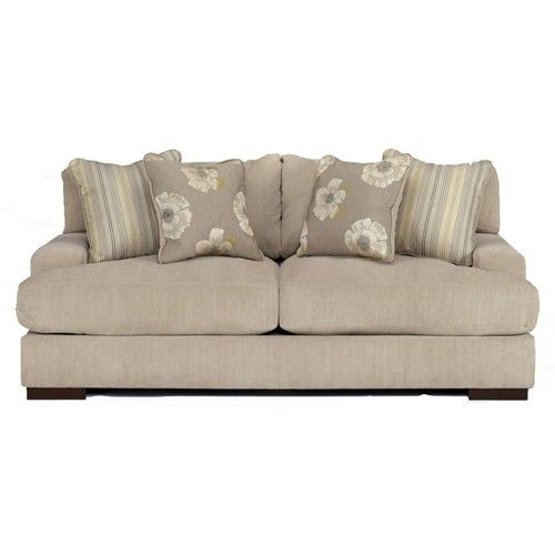 Pia - Linen Lawson Style Loose Backed Sofa by Signature Design by
