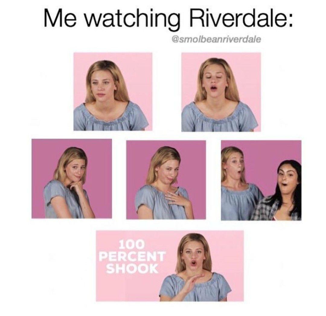 I M Always Shook When I Watch Riverdale Riverdale Memes Riverdale Funny Riverdale