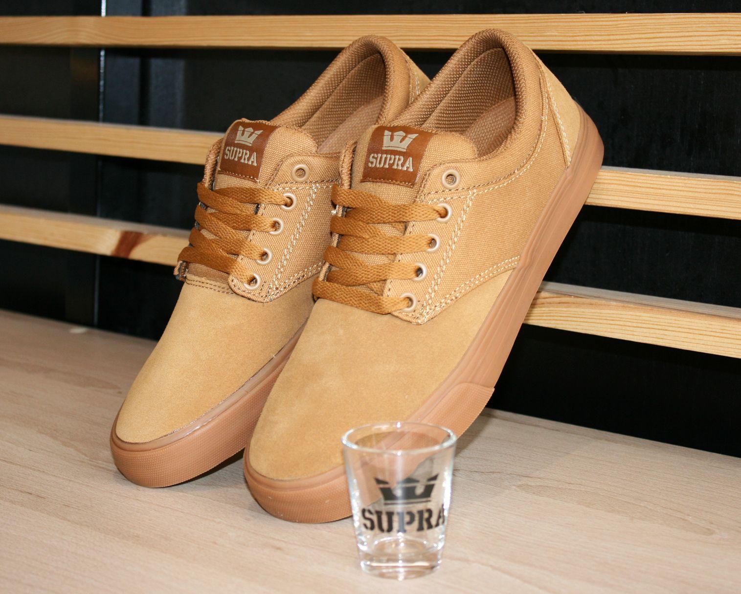 brand new b66ef ea5da Supra Footwear, Supra Chino Tan-Gum