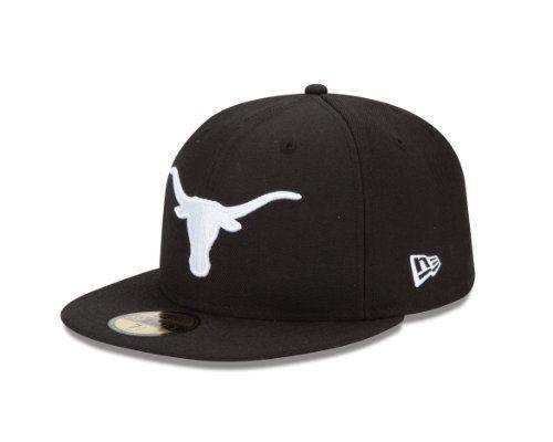 NCAA Texas Longhorns 5950 Black And White by New Era.  16.47. wool  100 6e0d29cfaf69