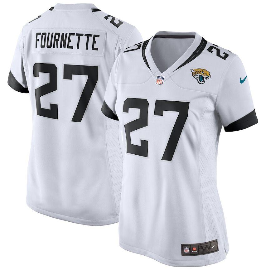 Women S Nike Leonard Fournette White Jacksonville Jaguars New 2018 Game Jersey Size Medium Jag White Nike Women Jacksonville Jaguars Nike Tops
