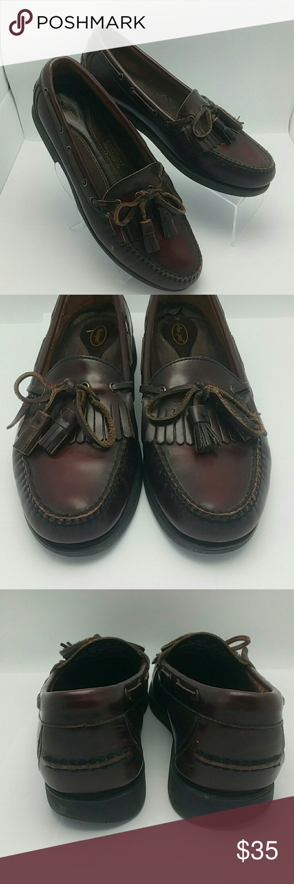 Rockport Comfort DMX Shoes. Burgundy Nice clean shoes, heels show some wear Rockport  Shoes
