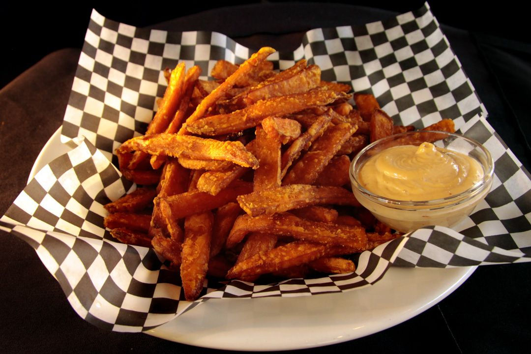 Vimy's Sweet Potato Fries (at Vimy's Lounge & Grill in the Waterton Lakes Lodge Resort.)