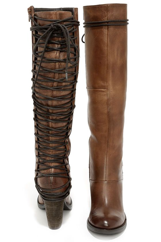 Free SH & Easy Returns! Shop Combat Lace Up Over-The-Knee Boots ...