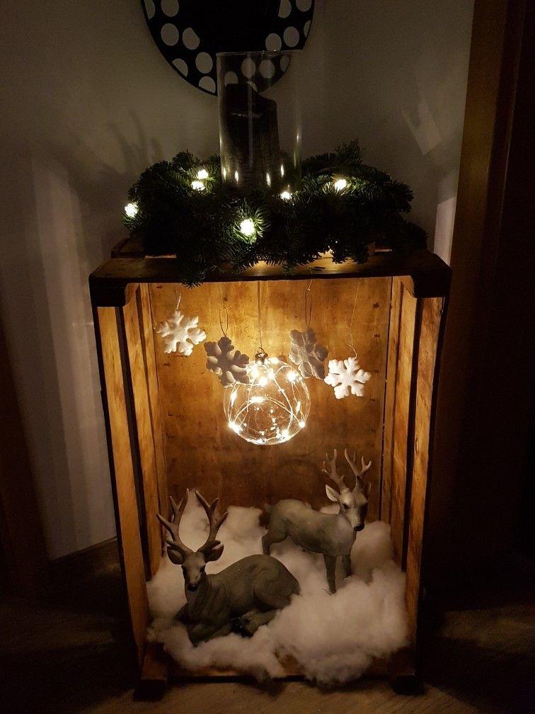 Deko Dekohauseingang Deko Christmas Deco Christmas Lanterns