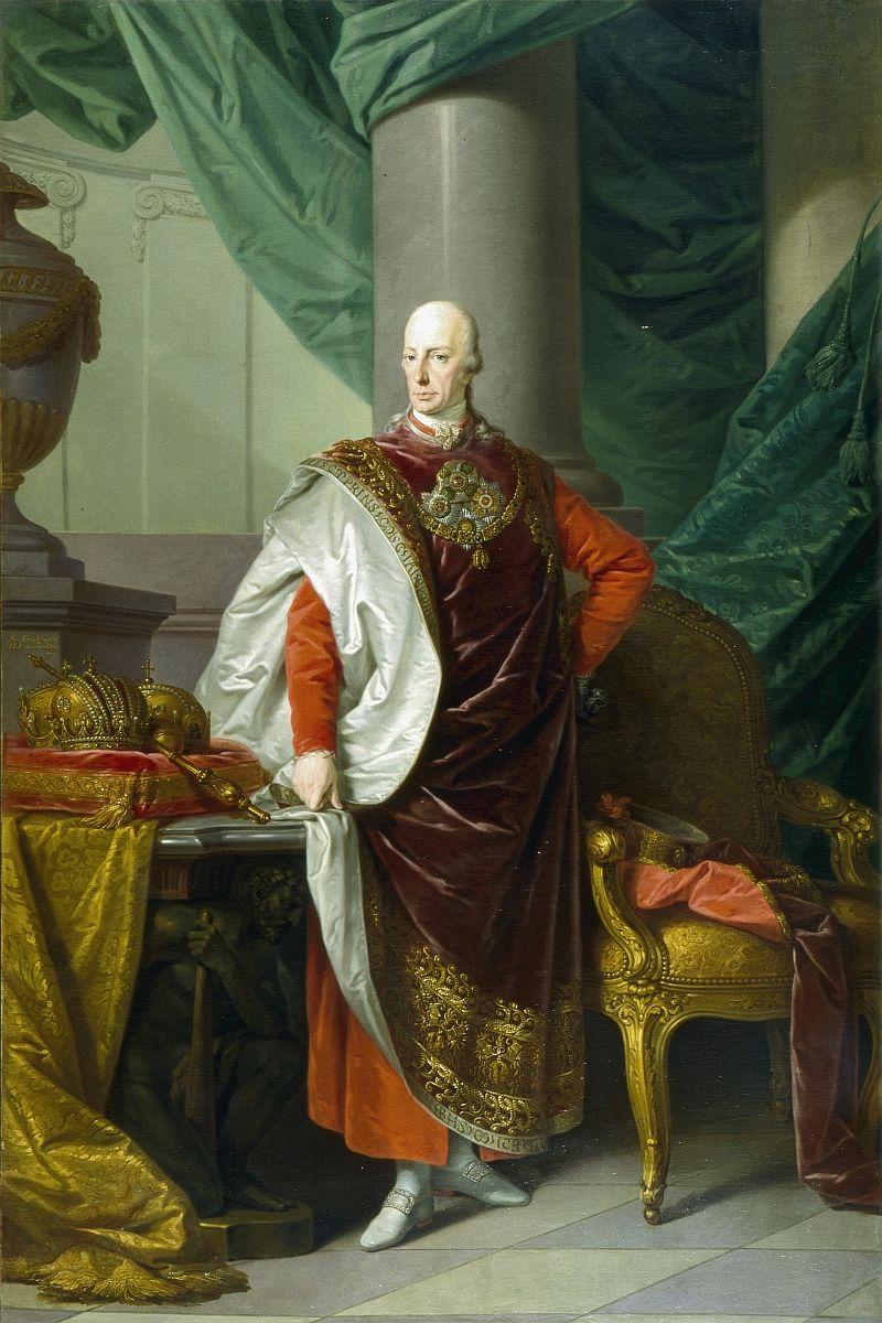 Francis I As Austrian Emperor Undated Salzburg Museum Holy Roman Empire Emperor European History