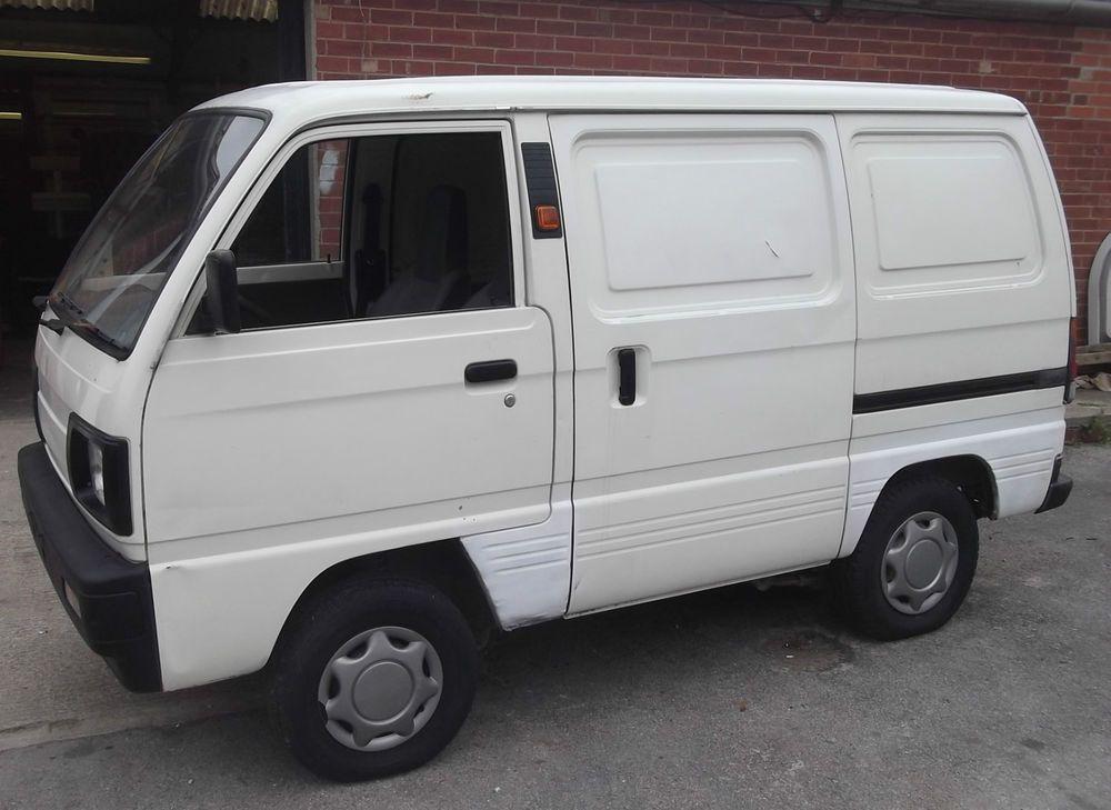 Vintage Retro White 1994 Suzuki Tx Super Carry Van Vans Retro Vintage Suzuki
