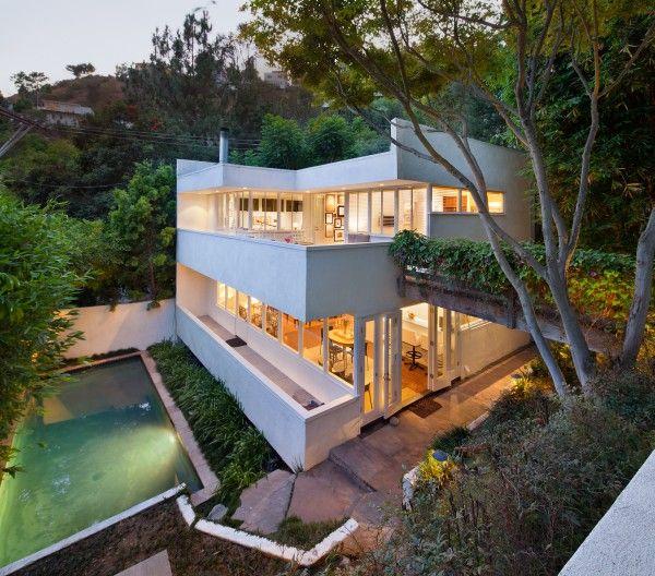 Modern Homes Los Angeles California: The Polito House, 1938 :: Raphael Soriano, Architect 1650