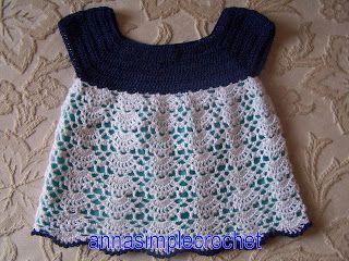 Annasimplecrochet: Petite robe