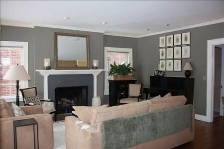 Benjamin Moore Kendall Charcoal   For The Breakfast Room
