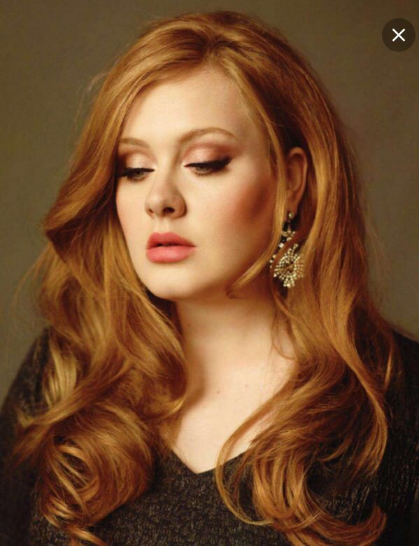 Adele Hair Color Strawberry Blonde Hair Color